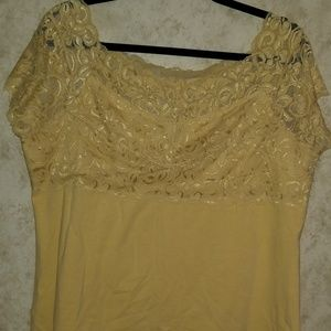 Torrid size 2 stretchy Lace top